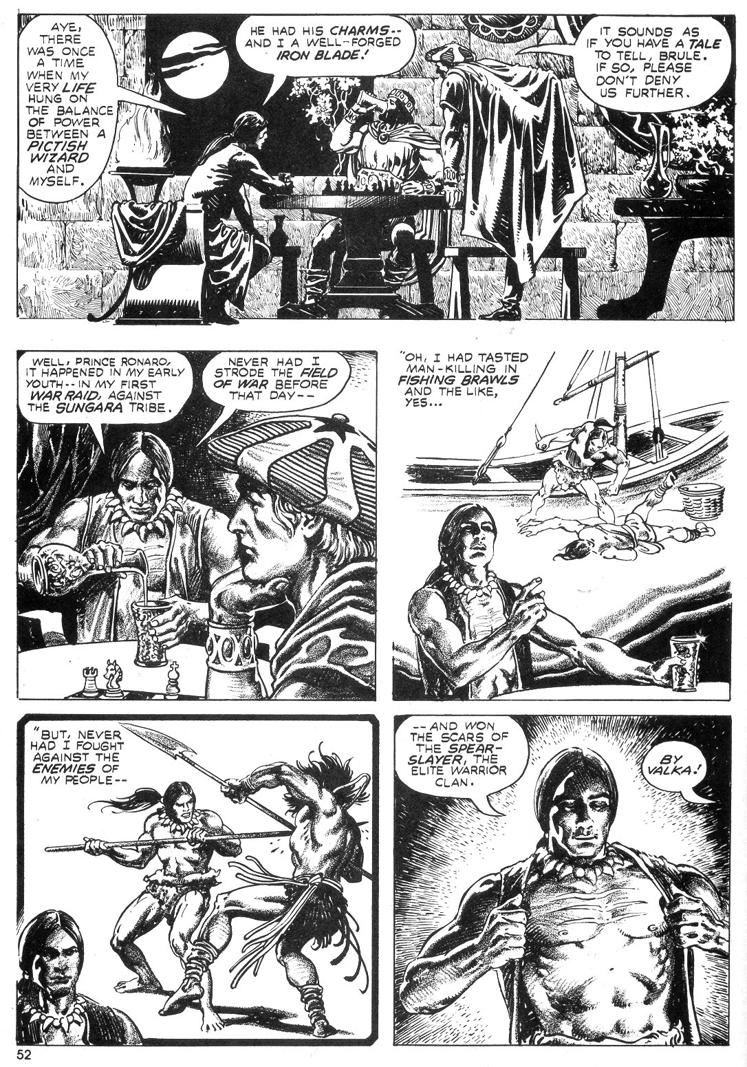 The Savage Sword Of Conan Issue #55 #56 - English 51