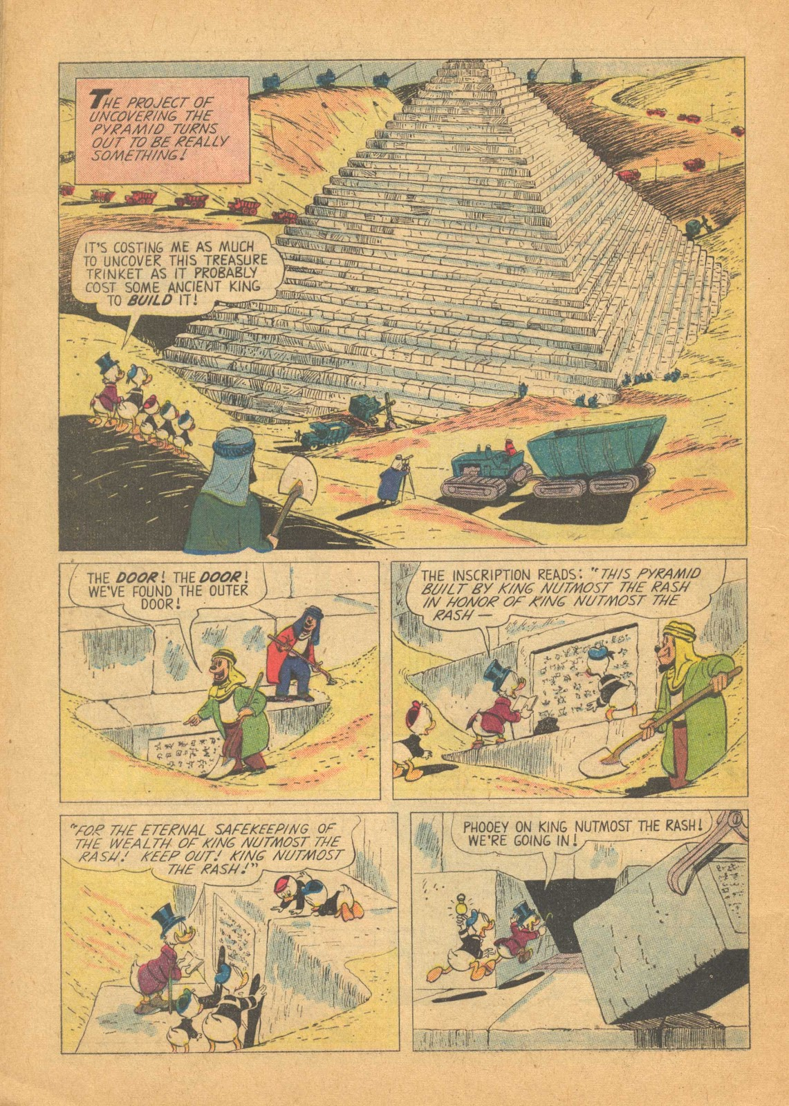 Uncle Scrooge (1953) Issue #25 #25 - English 32