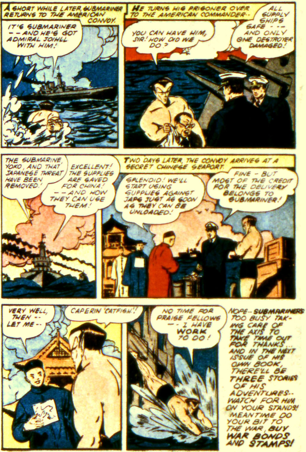 Sub-Mariner Comics Issue #11 #11 - English 20