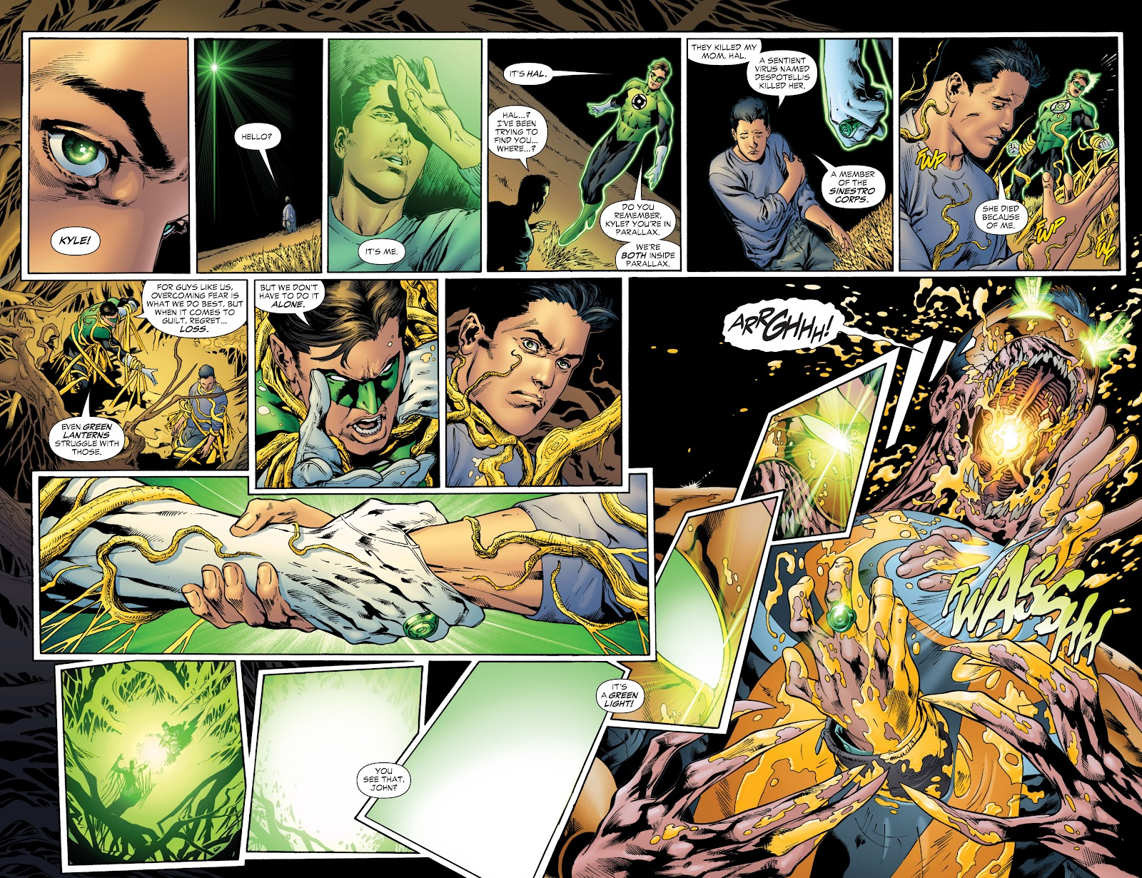 Green Lantern: The Sinestro Corps War Full #1 - English 195