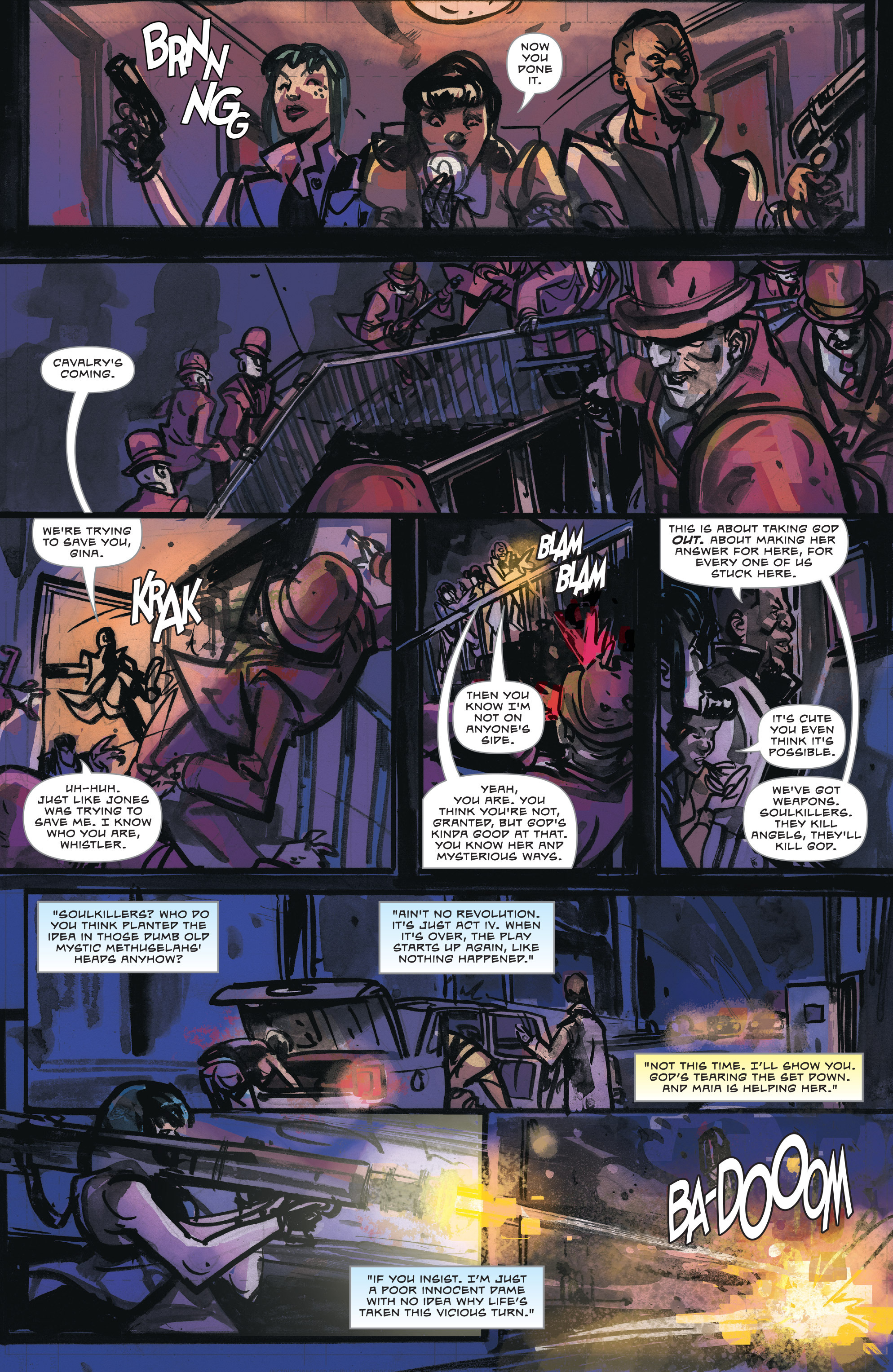 Read online Dead Letters comic -  Issue #11 - 10