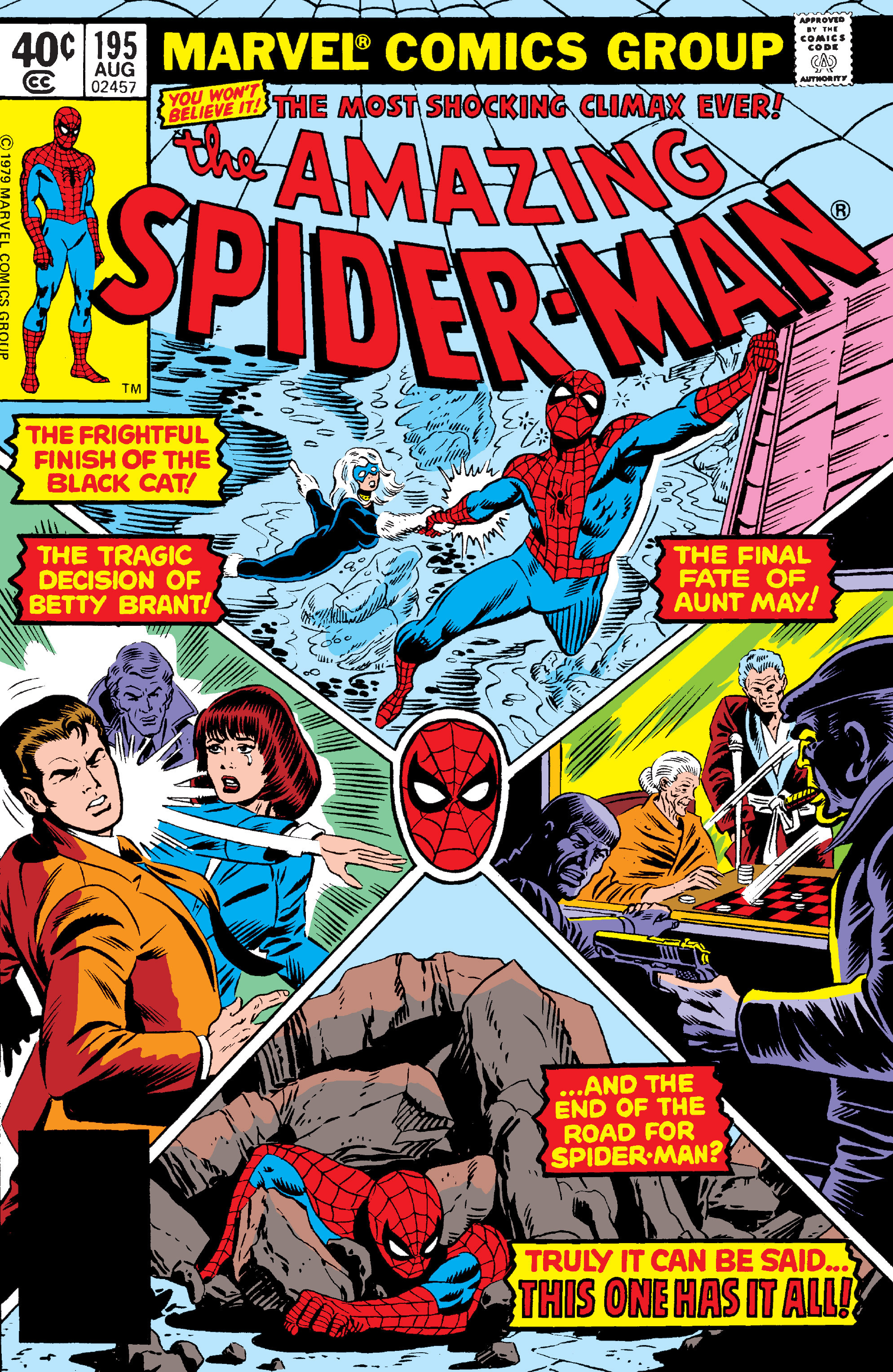 The Amazing Spider-Man (1963) 195 Page 1