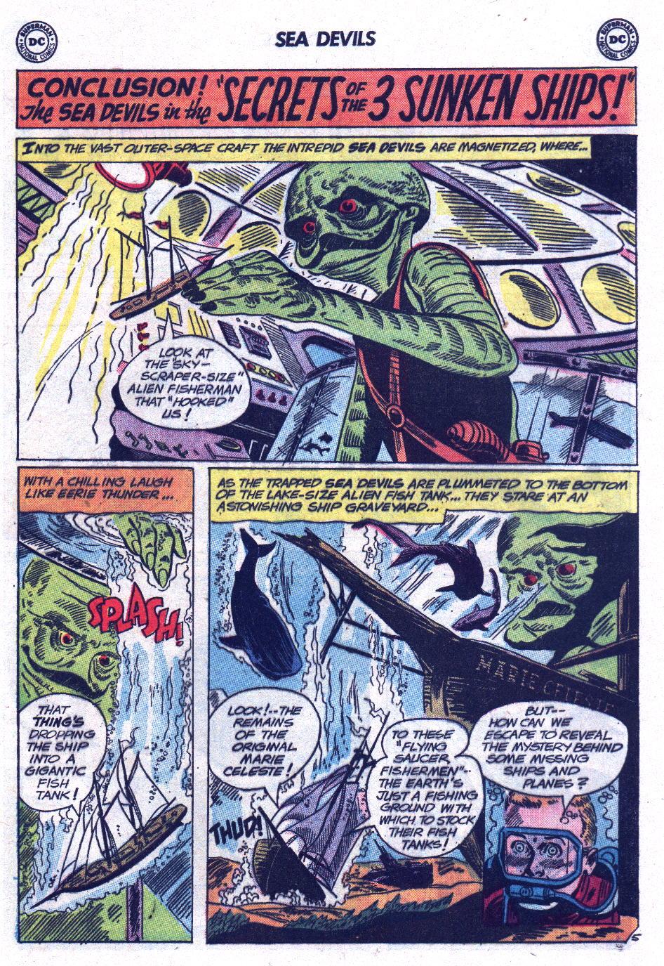 Read online Sea Devils comic -  Issue #13 - 29