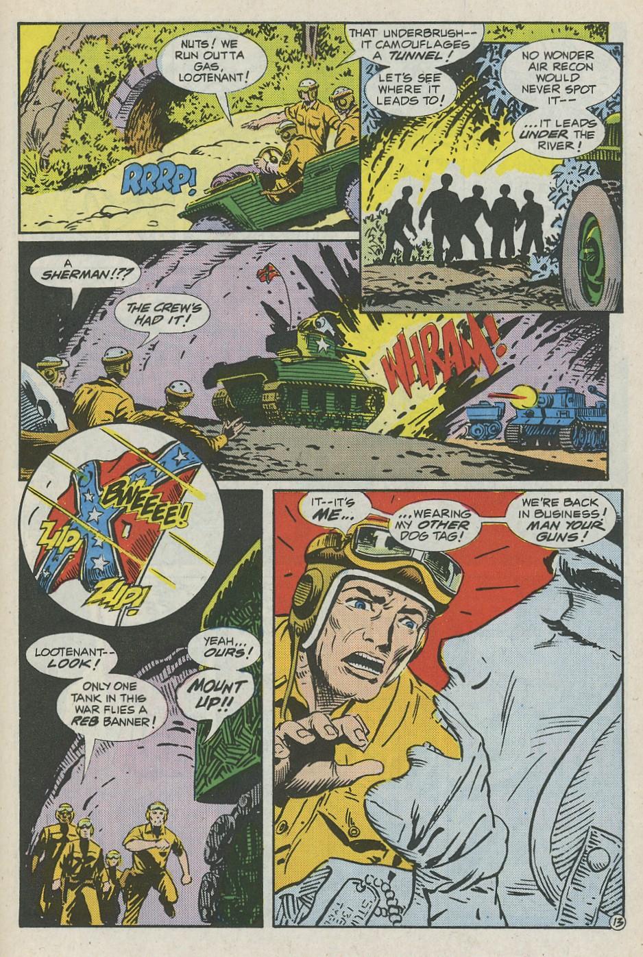 G.I. Combat (1952) Issue #288 #288 - English 18
