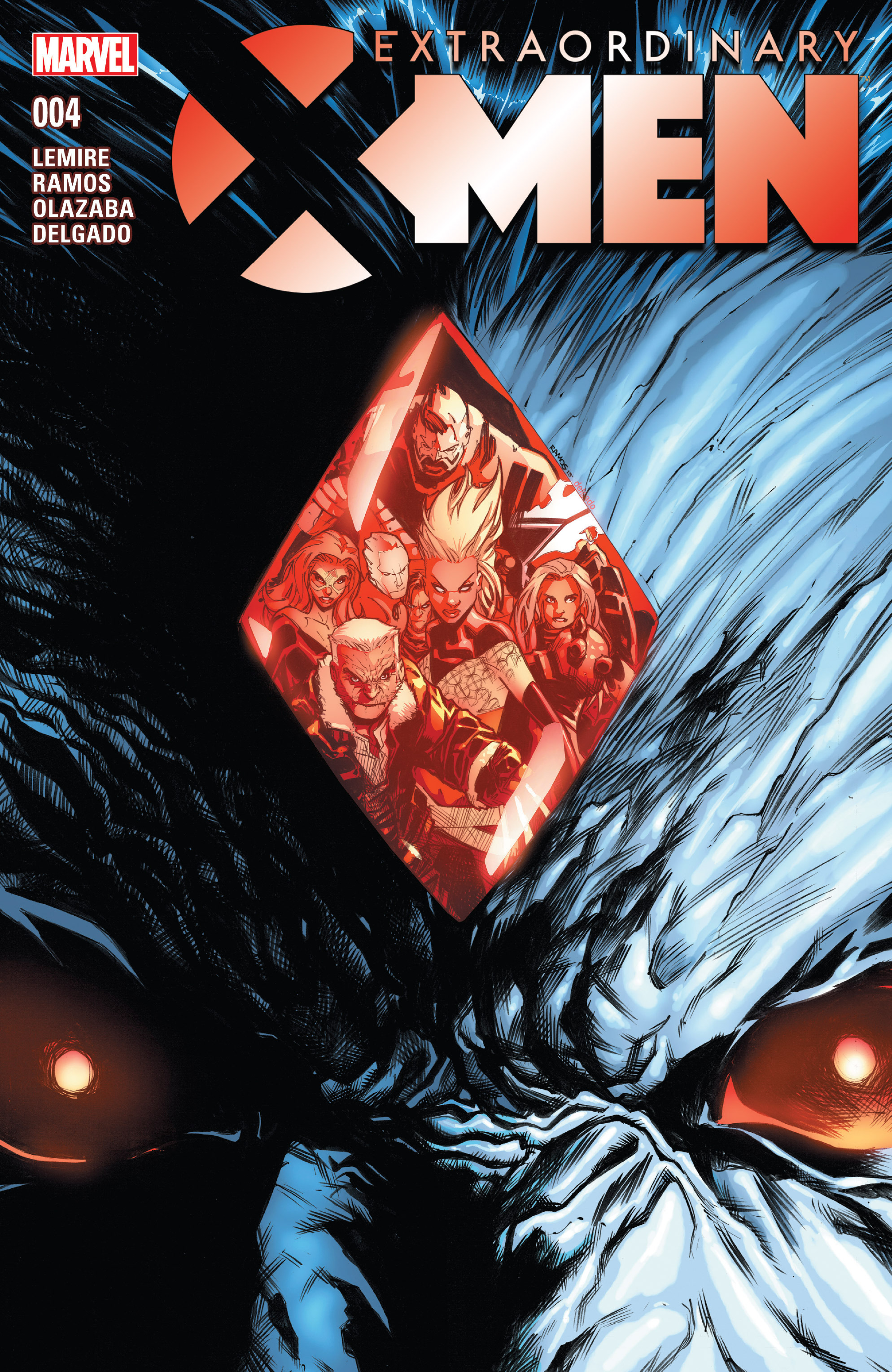 Extraordinary X-Men 4 Page 1
