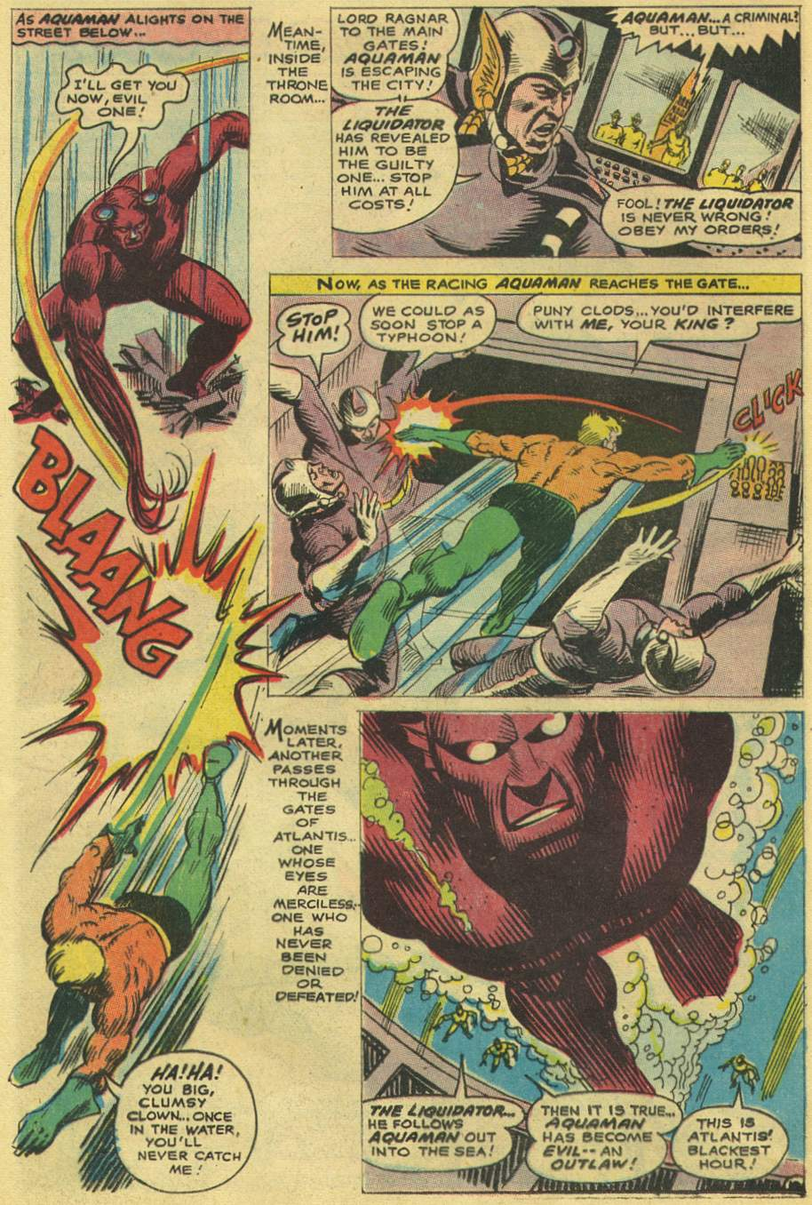 Aquaman (1962) Issue #38 #38 - English 16