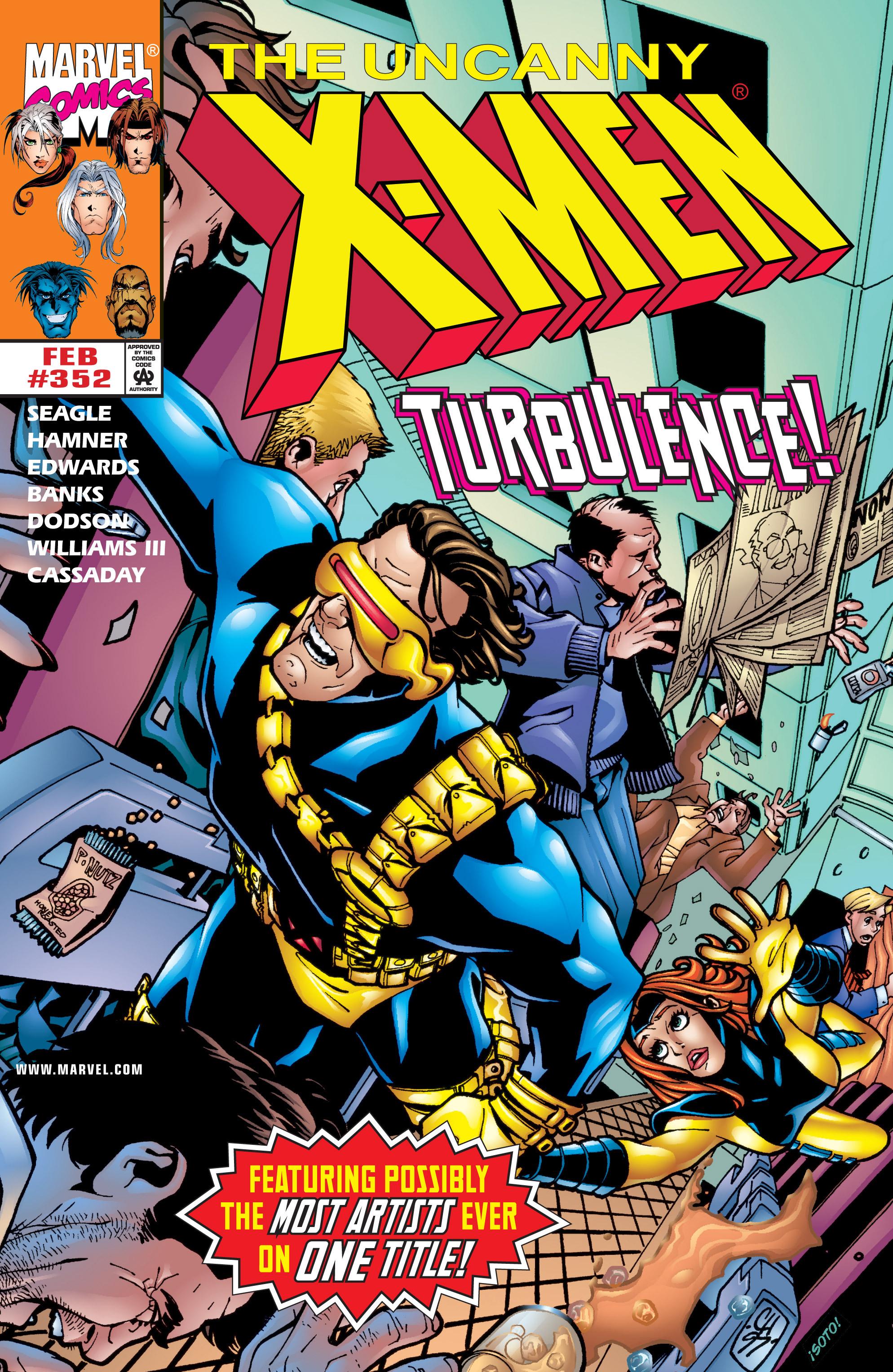 Uncanny X-Men (1963) 352 Page 1