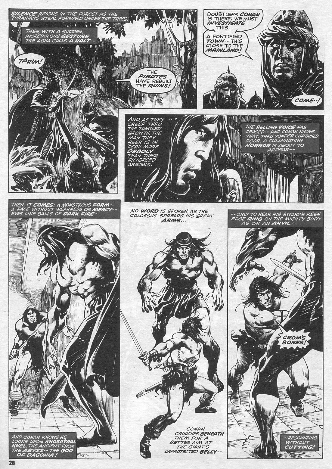 The Savage Sword Of Conan Issue #15 #16 - English 28