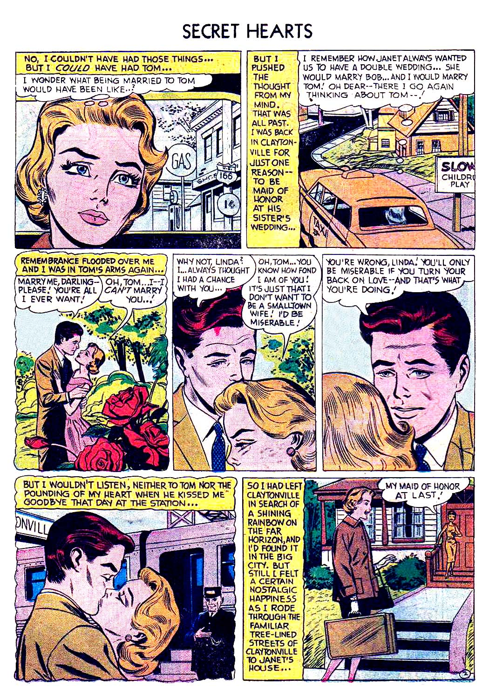 Read online Secret Hearts comic -  Issue #41 - 18
