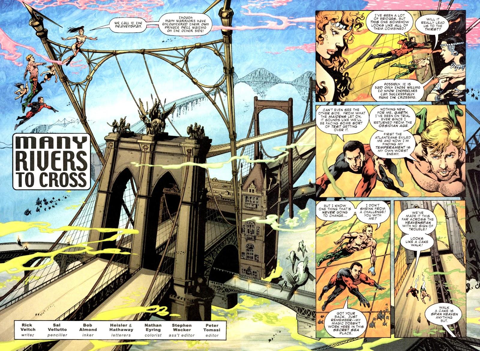 Aquaman (2003) Issue #6 #6 - English 6