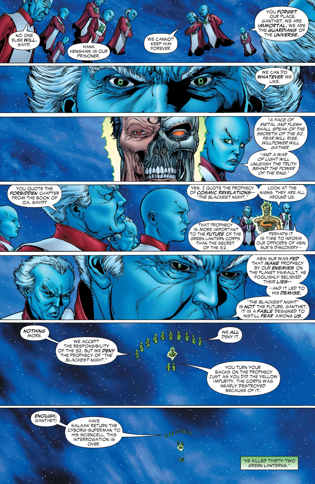 Green Lantern: The Sinestro Corps War Full #1 - English 23