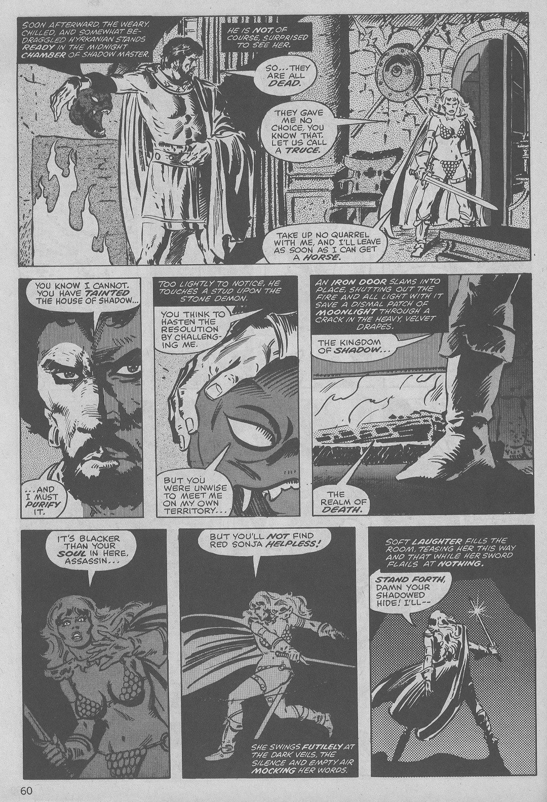The Savage Sword Of Conan Issue #45 #46 - English 60