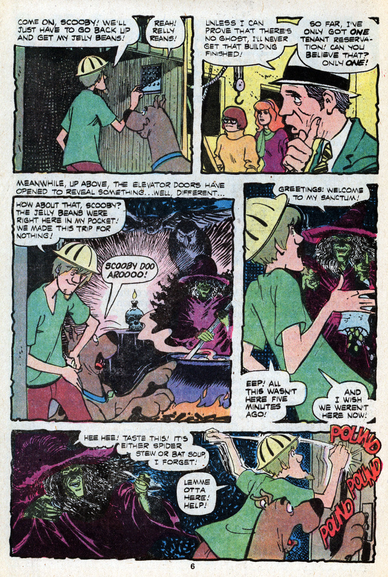 Read online Scooby-Doo (1977) comic -  Issue #5 - 8