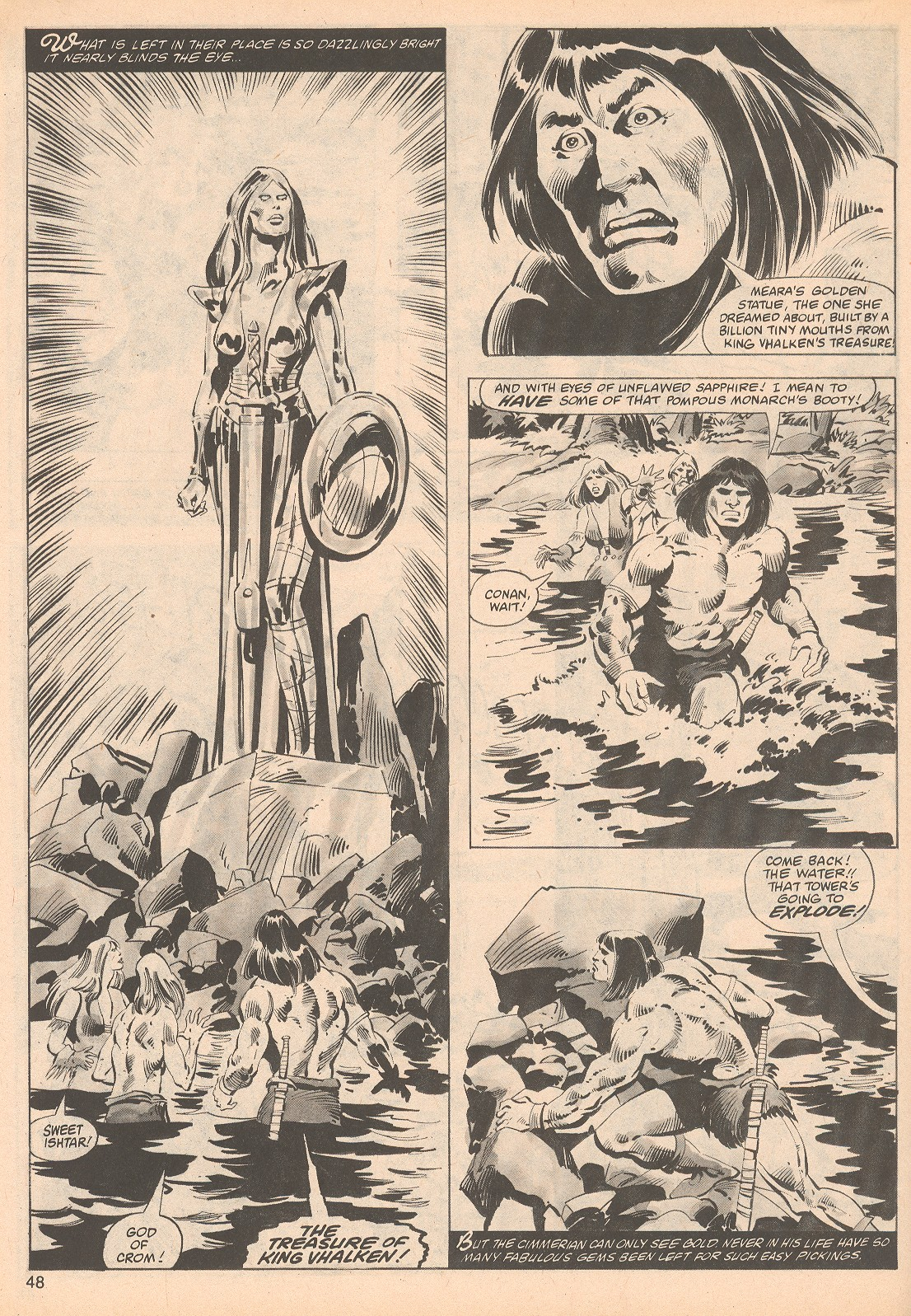 The Savage Sword Of Conan Issue #70 #71 - English 48