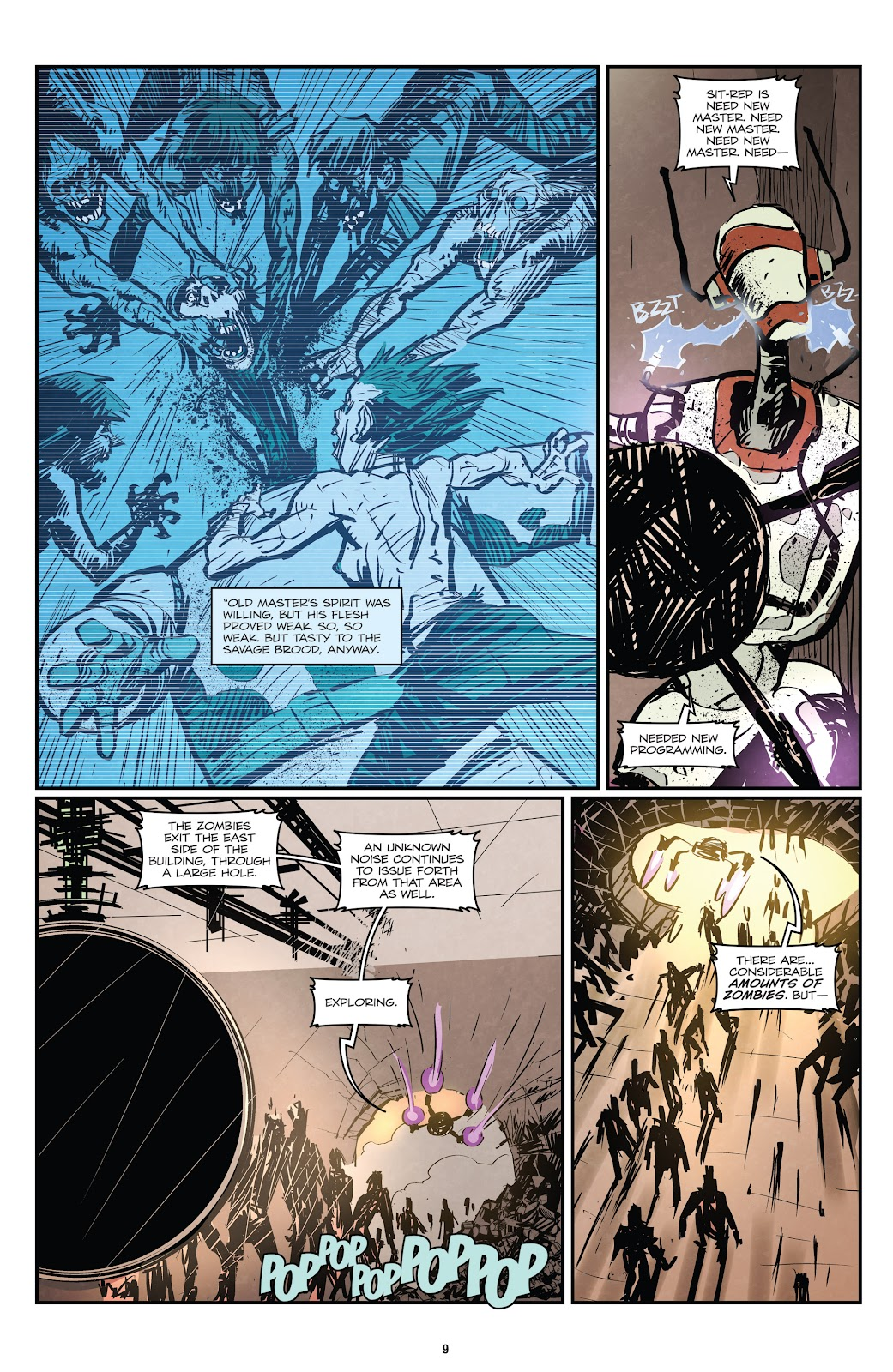 Zombies vs Robots (2015) Issue #1 Page 10