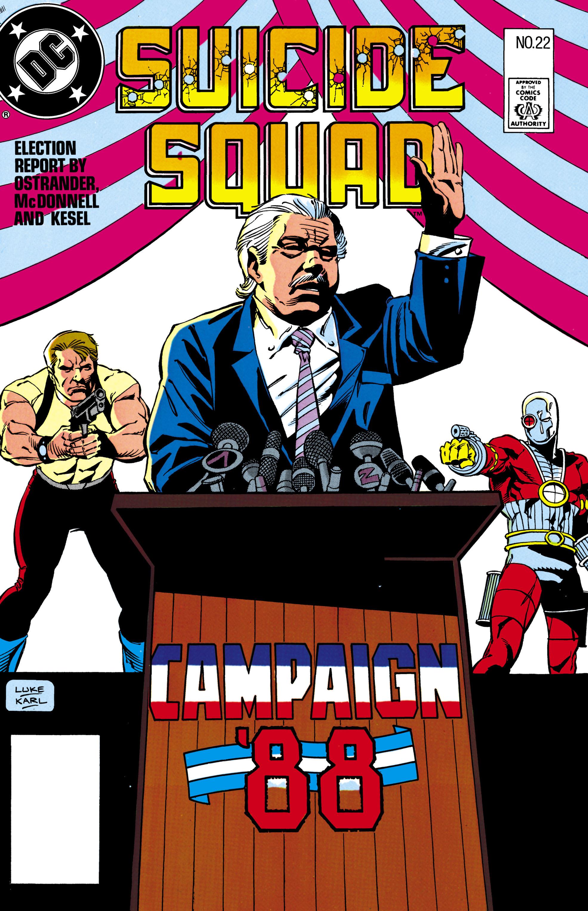 Suicide Squad (1987) 22 Page 1