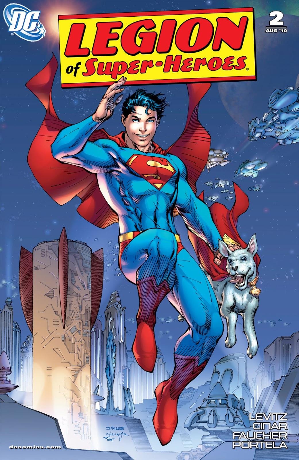 Legion of Super-Heroes (2010) Issue #2 #3 - English 2