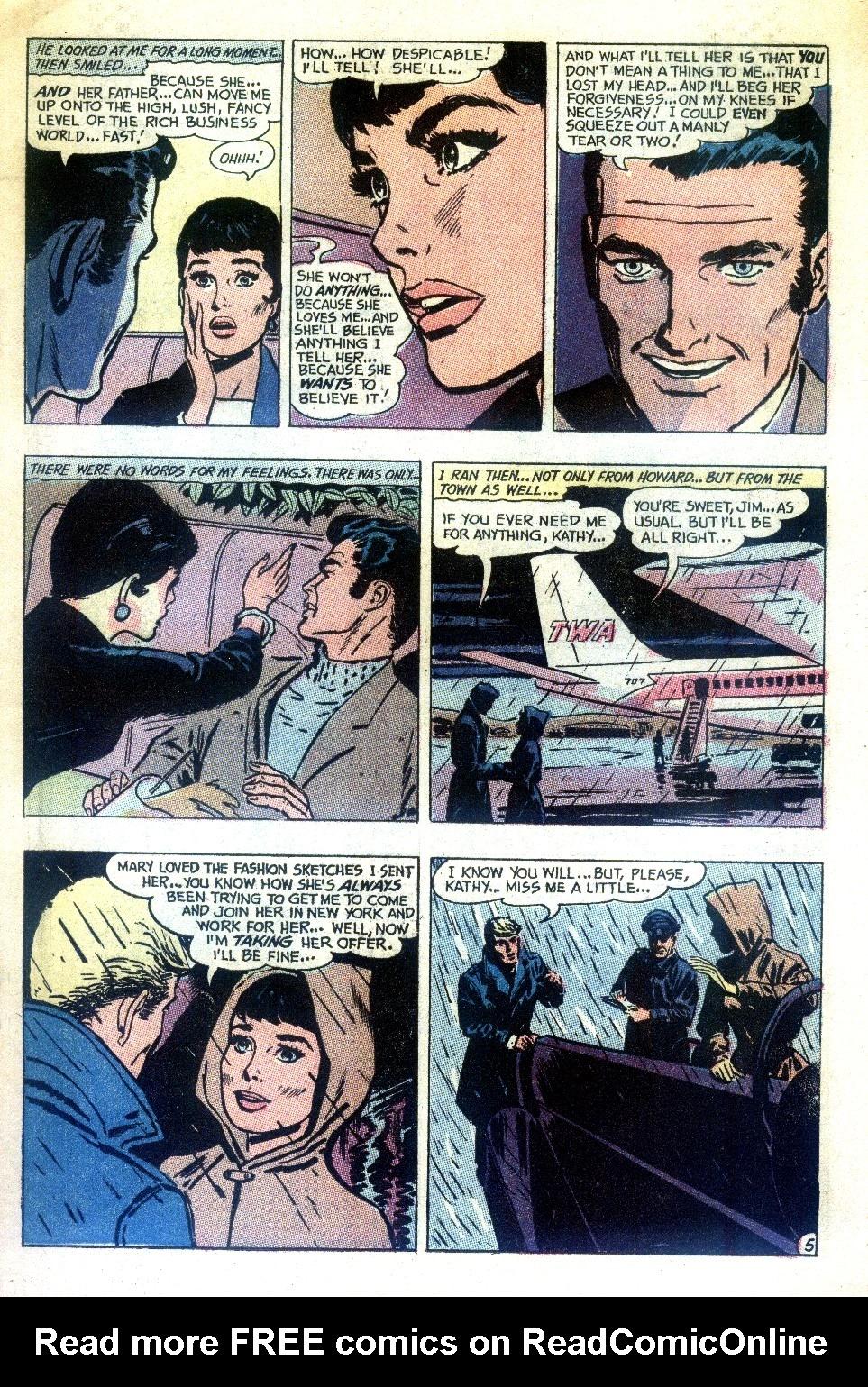 Read online Secret Hearts comic -  Issue #148 - 19