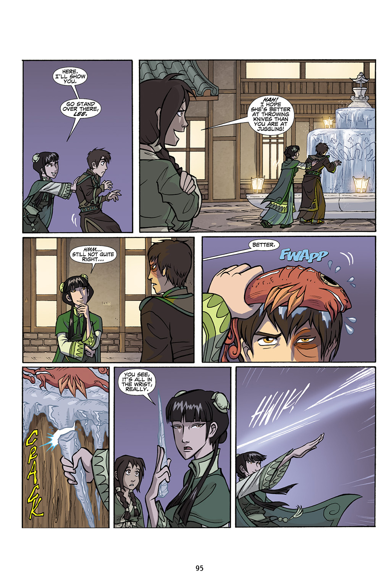Nickelodeon Avatar: The Last Airbender - The Lost Adventures chap full pic 96