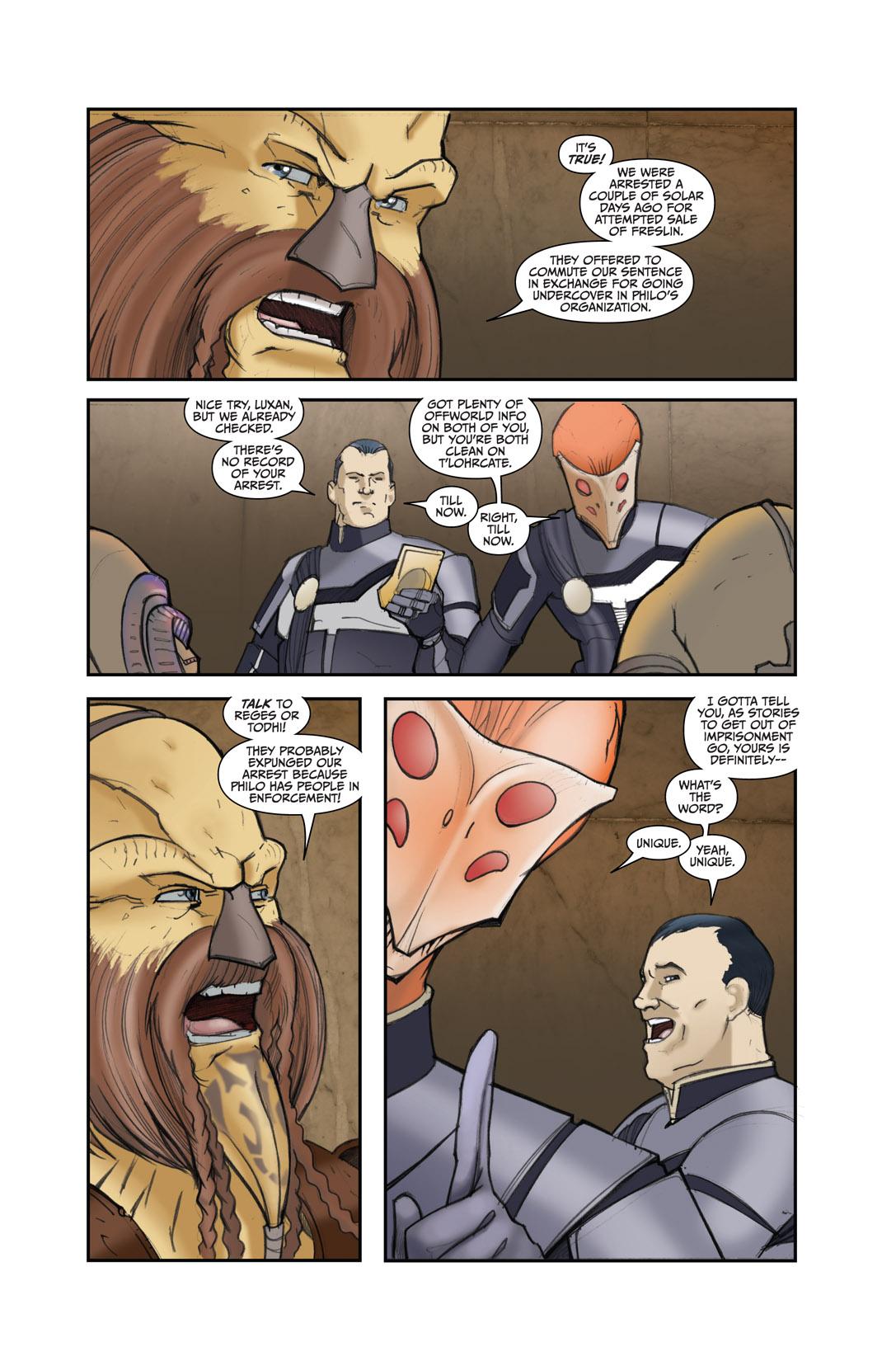 Read online Farscape: D'Argo's Quest comic -  Issue #4 - 6