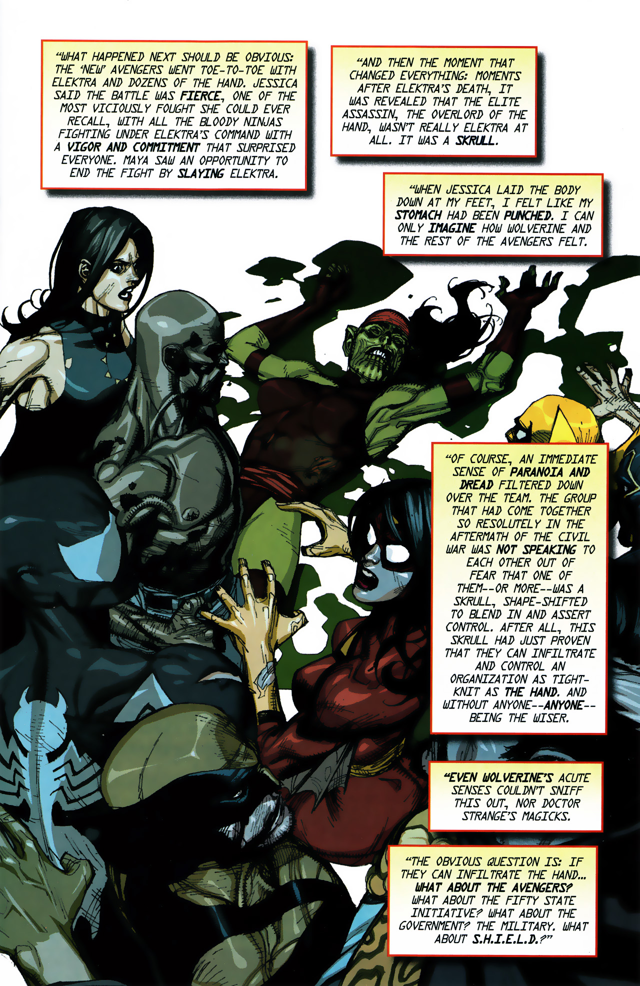 Read online Secret Invasion Saga comic -  Issue # Full - 5