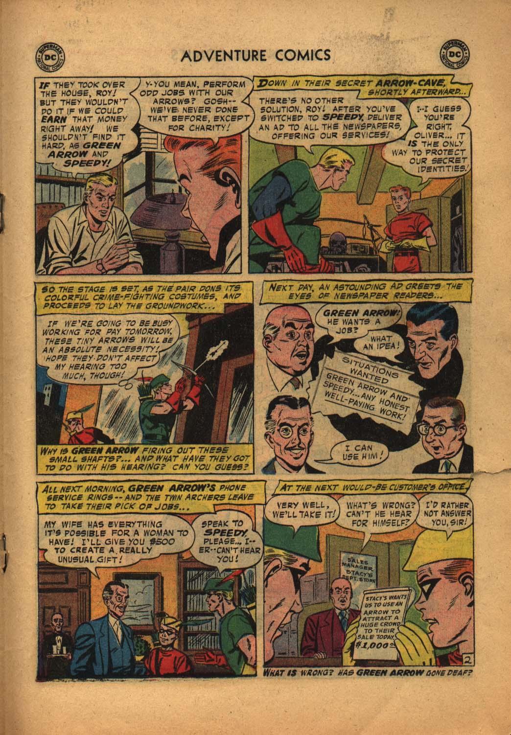 Read online Adventure Comics (1938) comic -  Issue #240 - 19