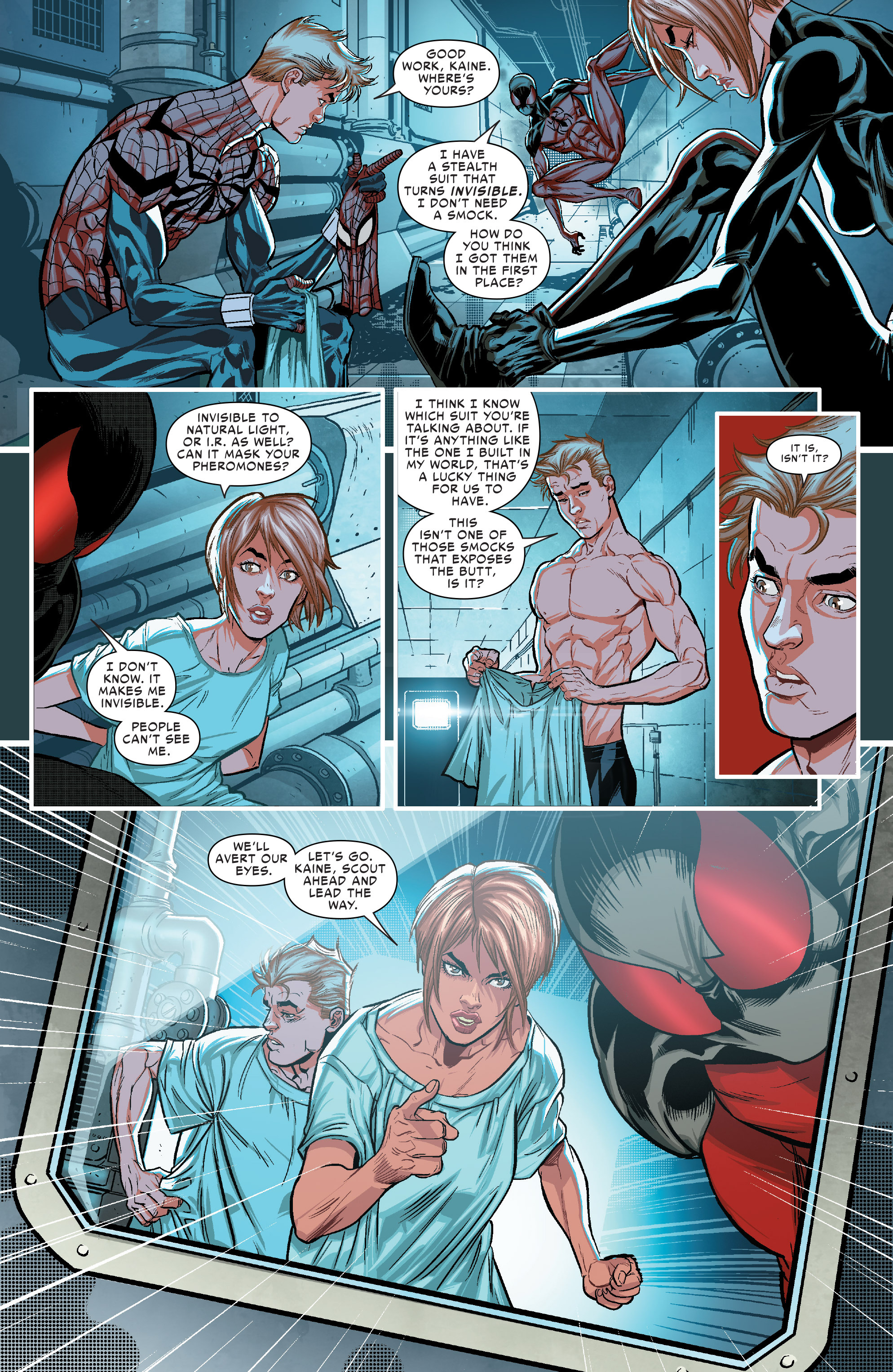 Read online Scarlet Spiders comic -  Issue #1 - 5