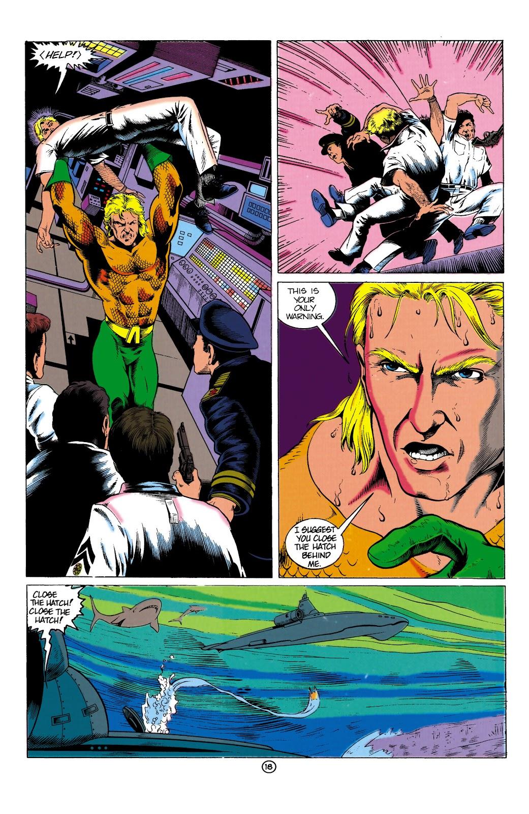 Aquaman (1991) Issue #1 #1 - English 18