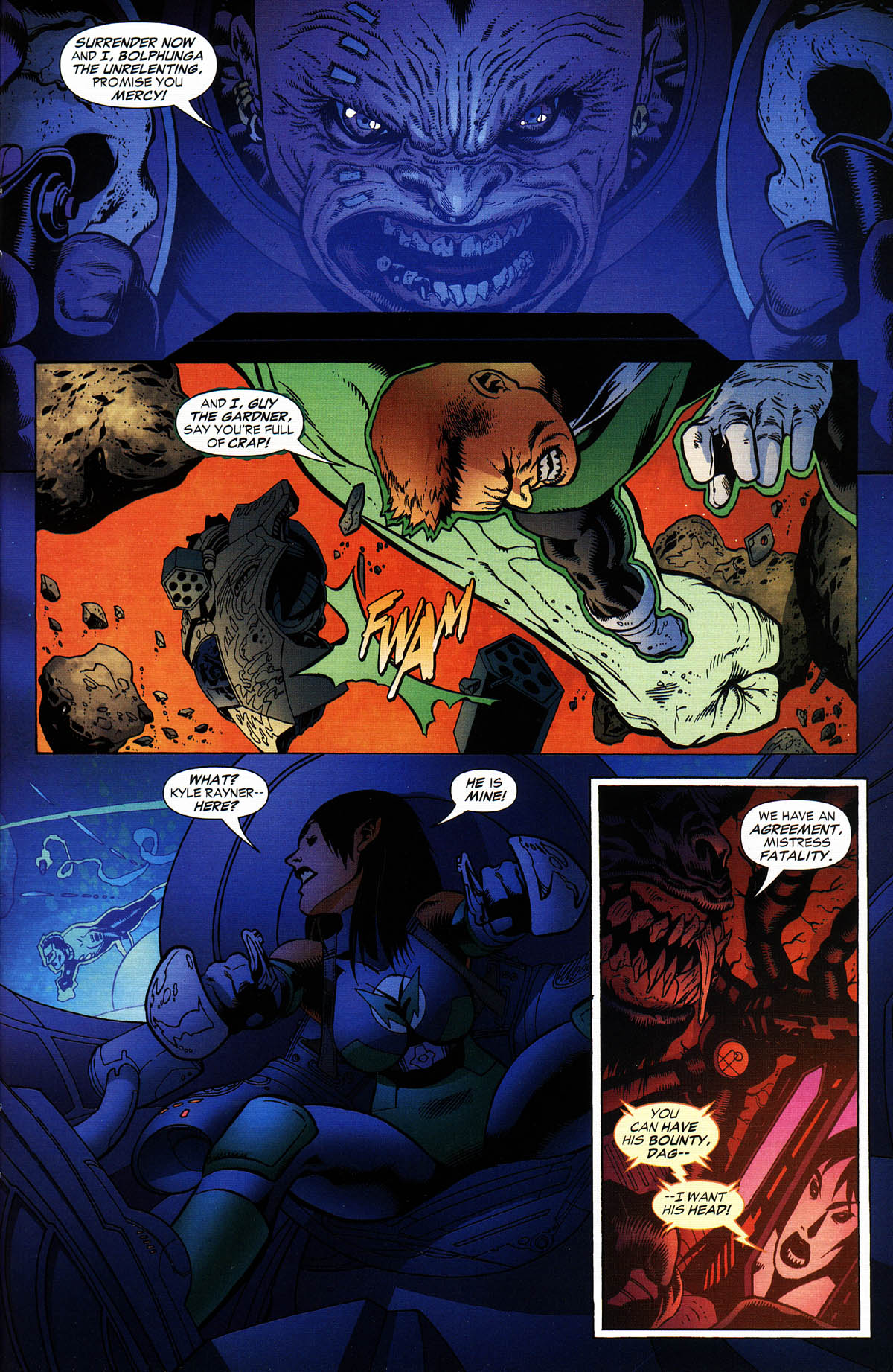 Read online Green Lantern Corps: Recharge comic -  Issue #3 - 18