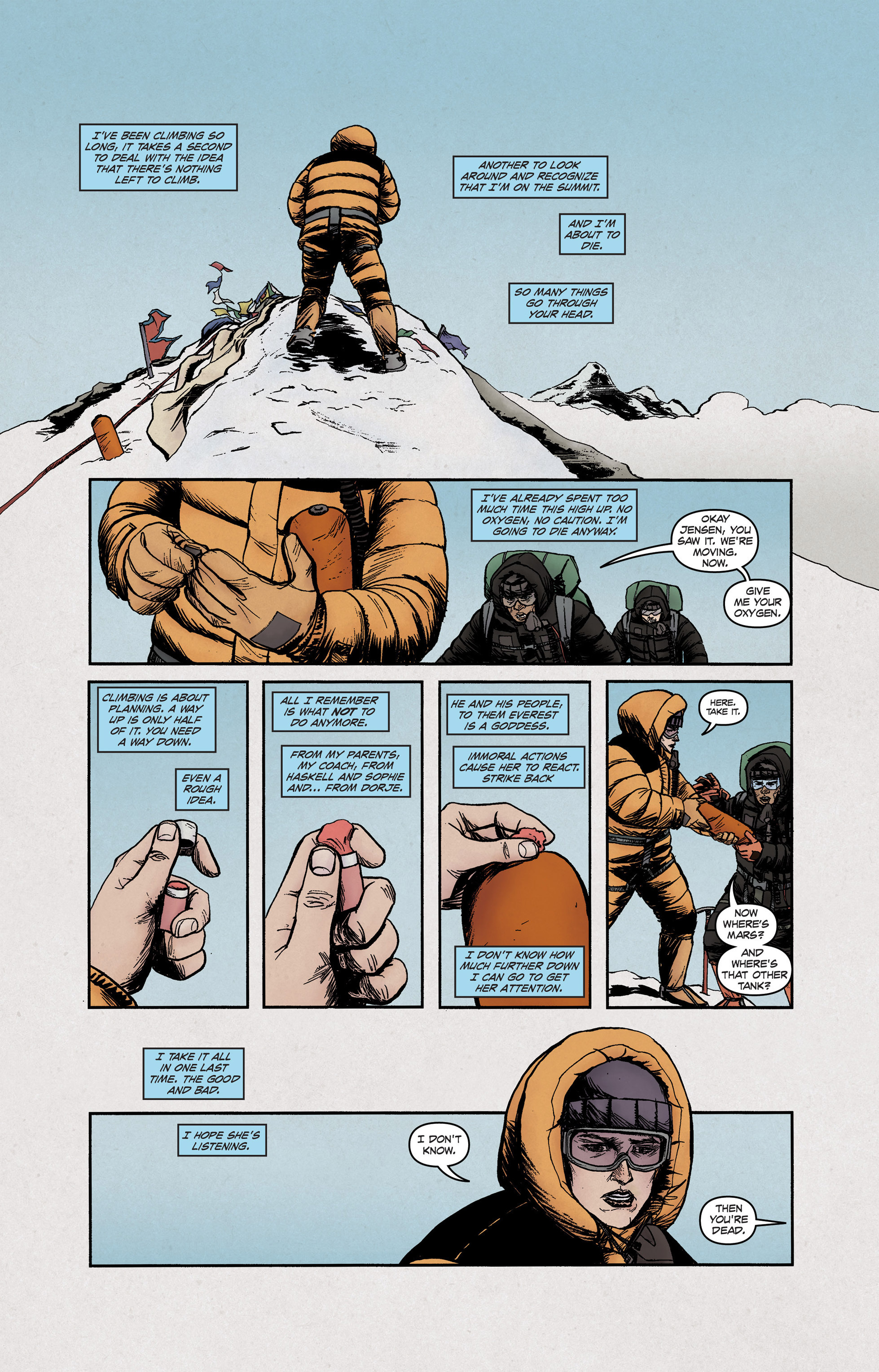 Read online High Crimes comic -  Issue #12 - 7