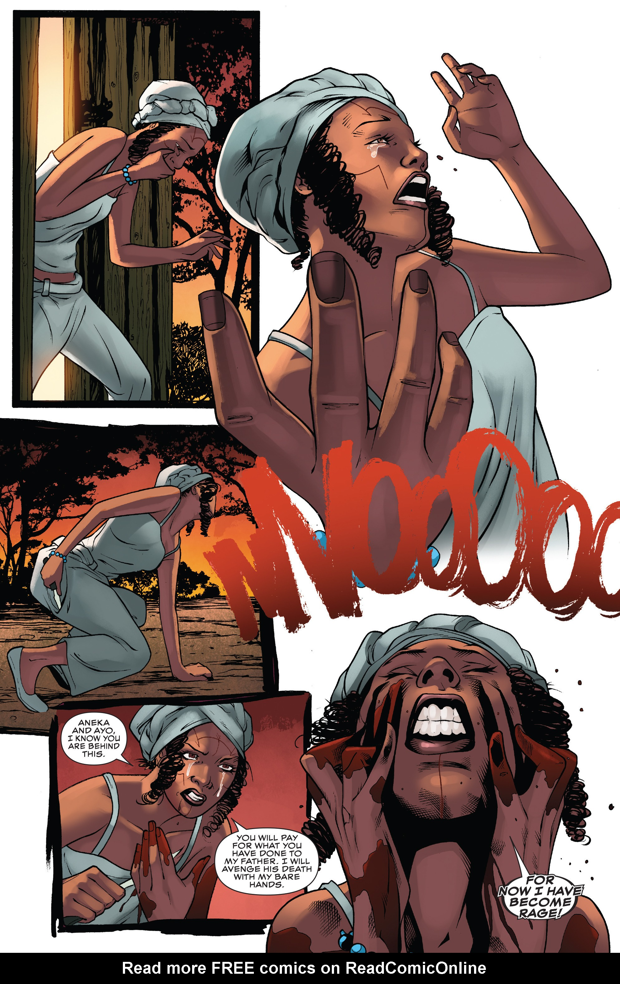Read online Black Panther: World of Wakanda comic -  Issue #4 - 20