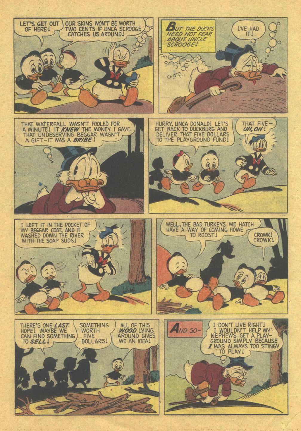 Uncle Scrooge (1953) Issue #22 #22 - English 25