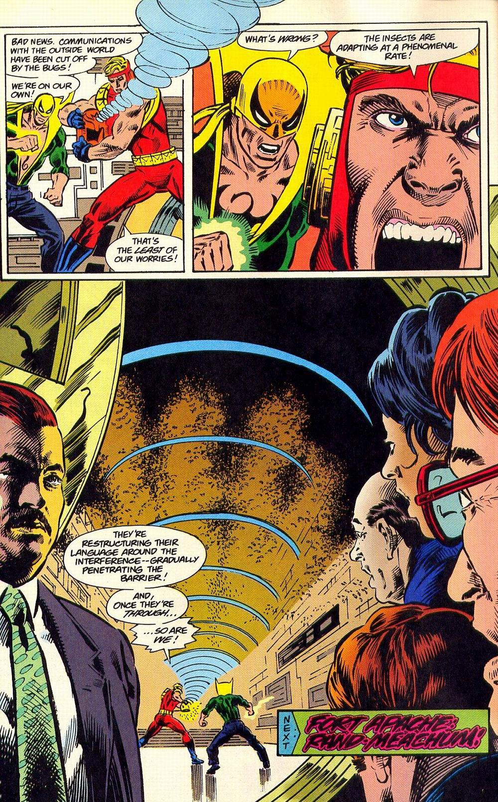 Read online Secret Defenders comic -  Issue #18 - 23