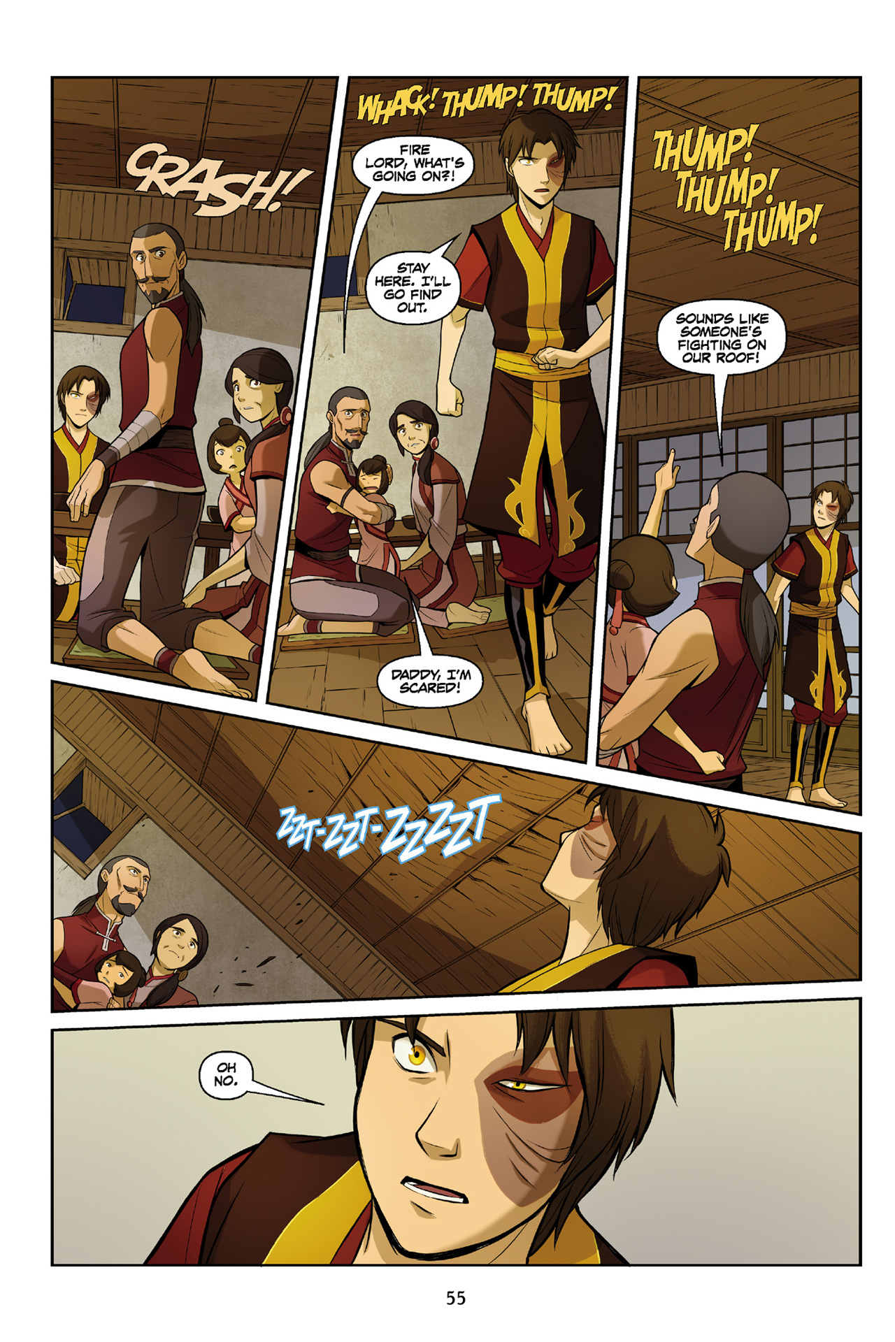 Read online Nickelodeon Avatar: The Last Airbender - The Search comic -  Issue # Part 3 - 56