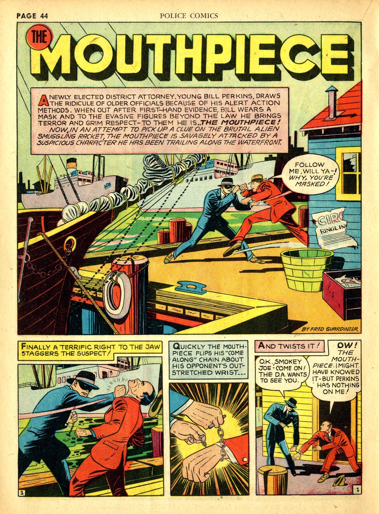 Police Comics #1 #127 - English 47