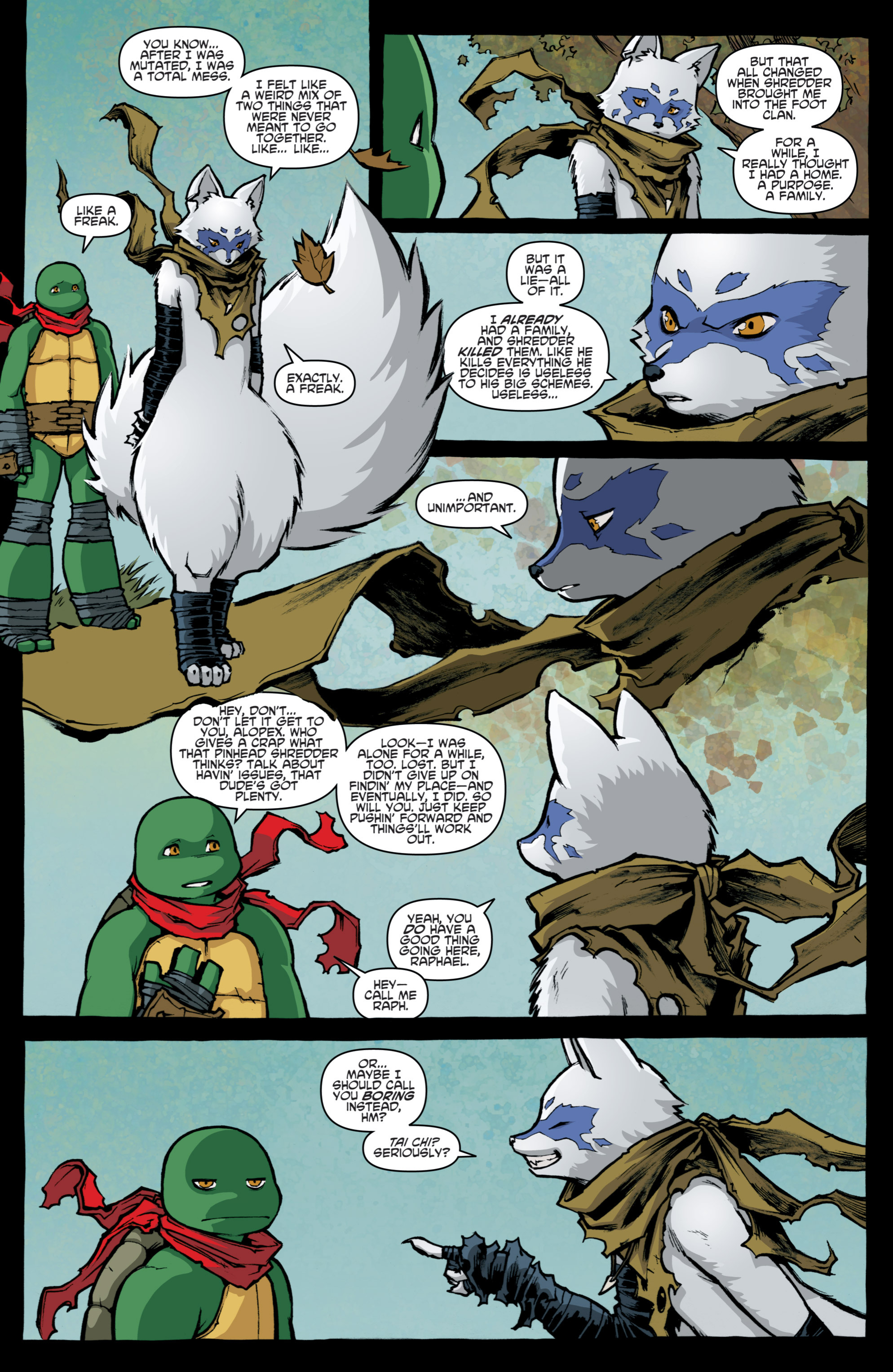 Read online Teenage Mutant Ninja Turtles (2011) comic -  Issue #31 - 8