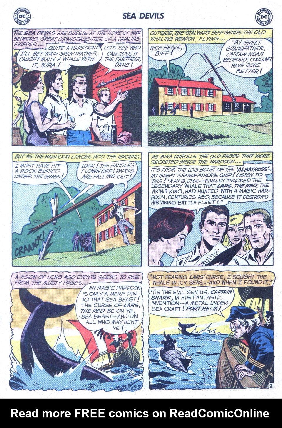 Read online Sea Devils comic -  Issue #1 - 23
