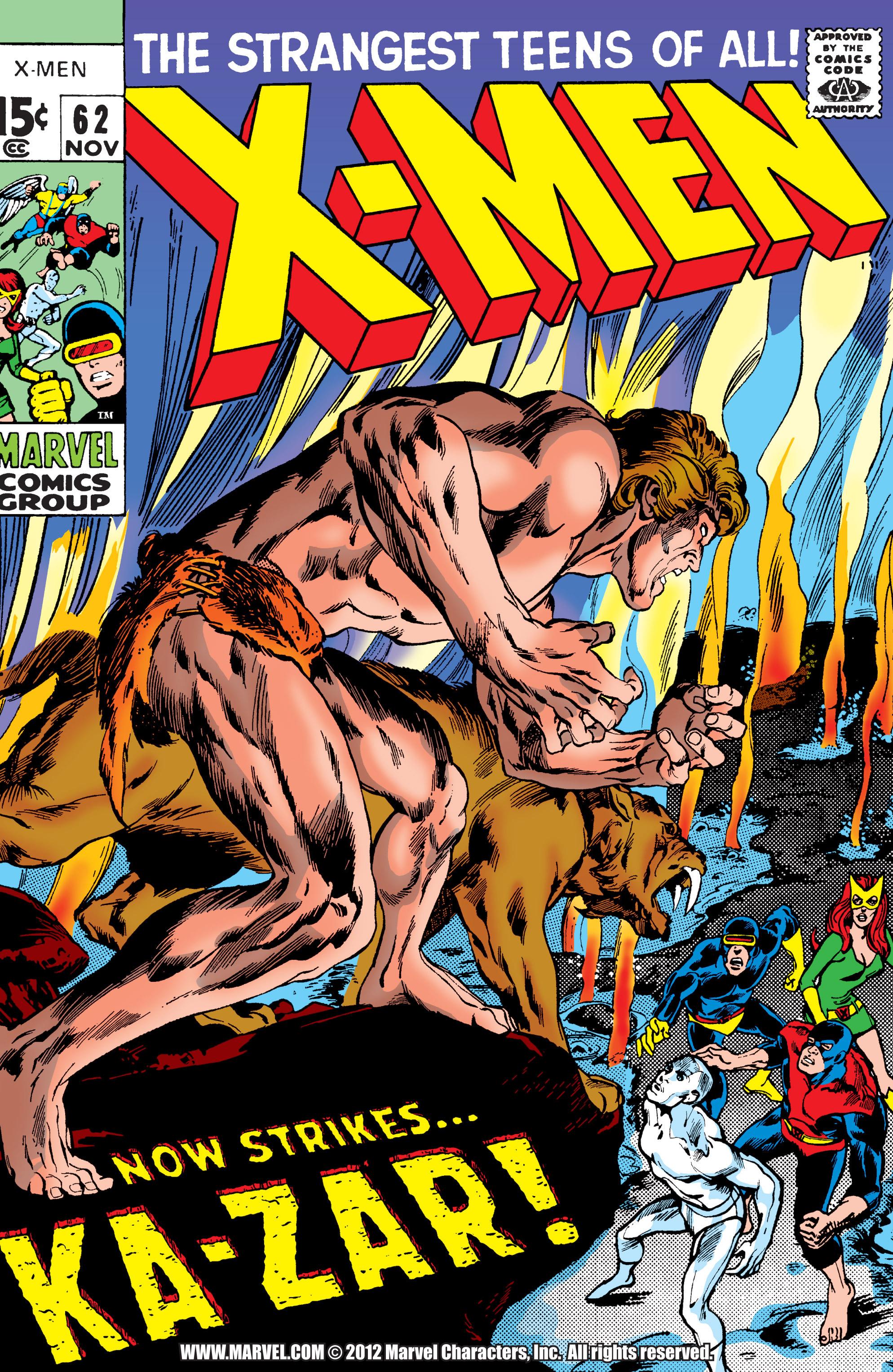 Uncanny X-Men (1963) 62 Page 1
