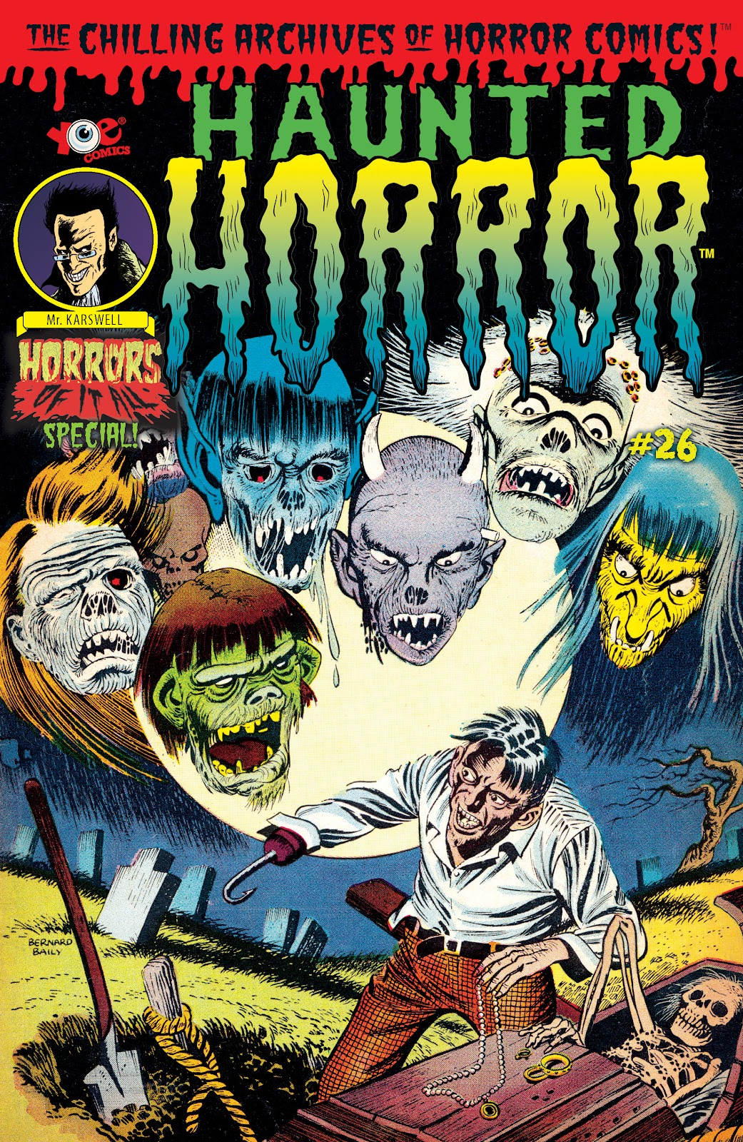Haunted Horror Issue #26 #26 - English 1