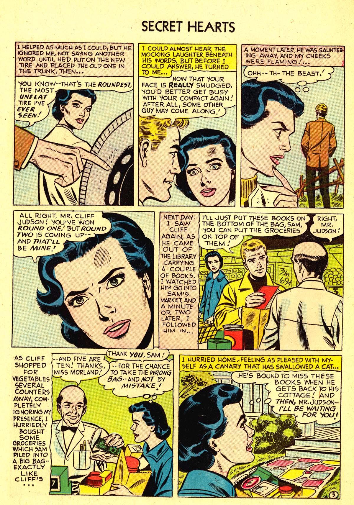 Read online Secret Hearts comic -  Issue #37 - 12