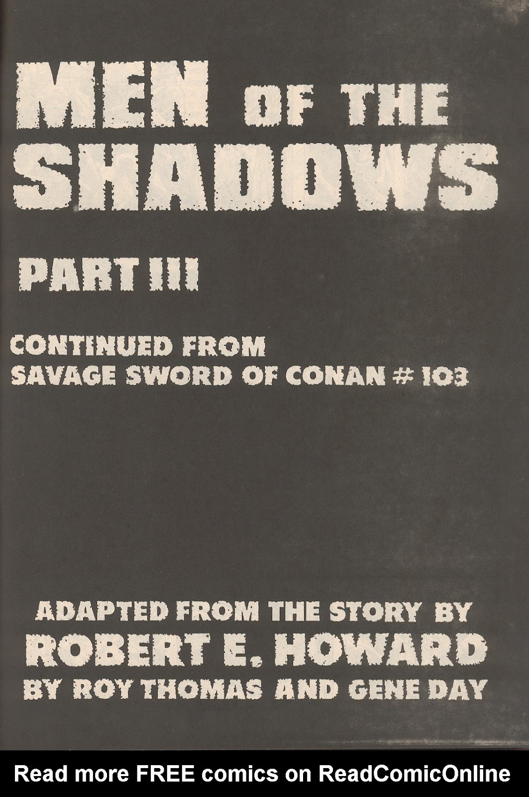 The Savage Sword Of Conan Issue #104 #105 - English 57