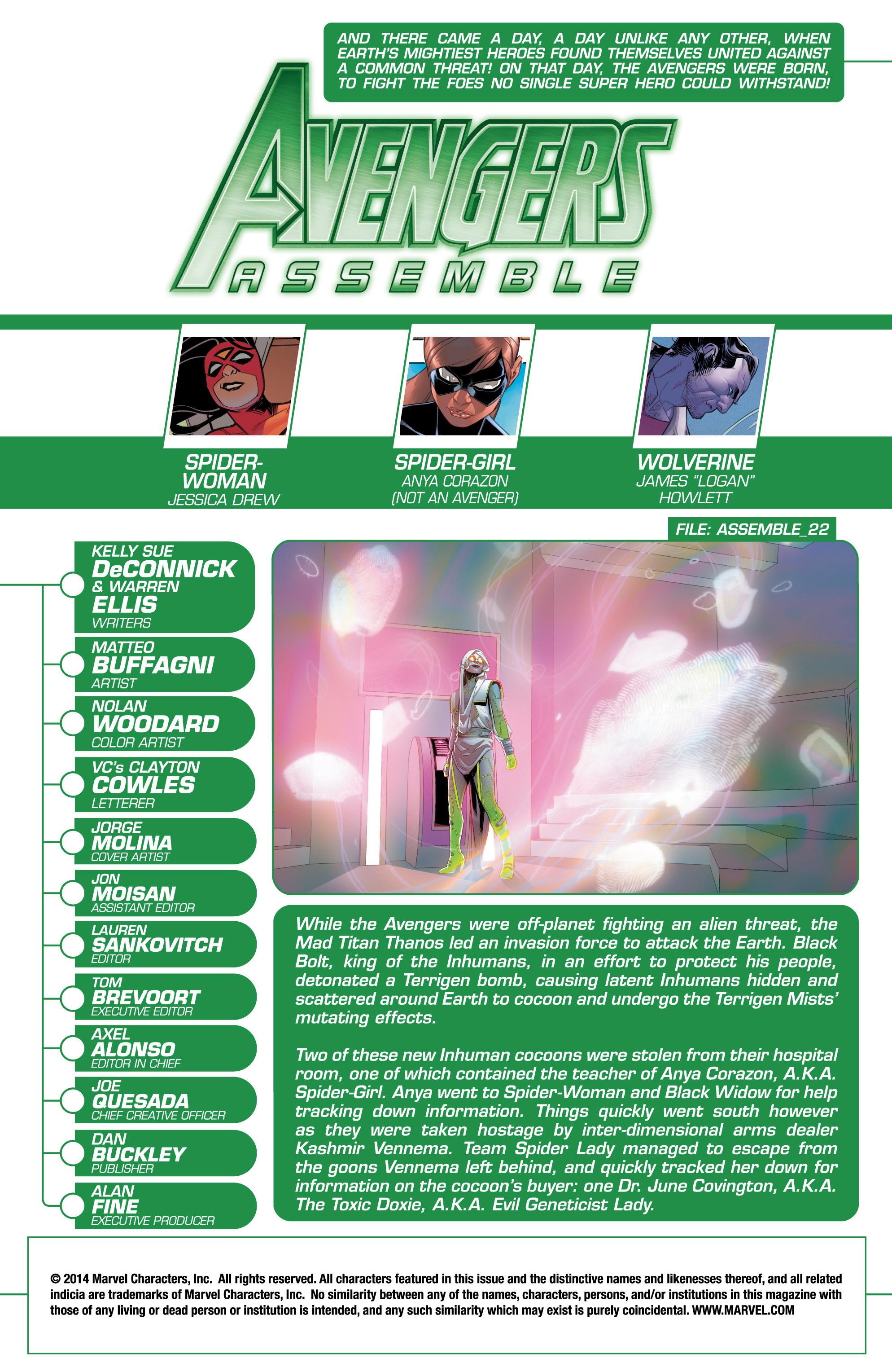 Read online Avengers Assemble (2012) comic -  Issue #23 - 2
