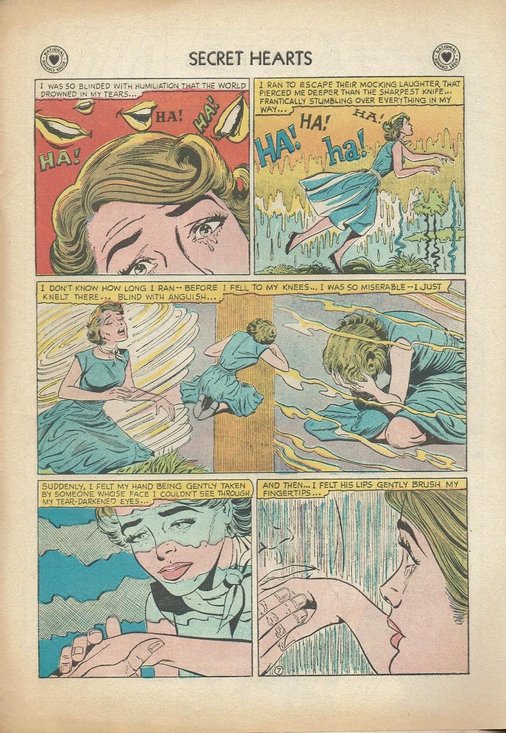 Read online Secret Hearts comic -  Issue #47 - 33