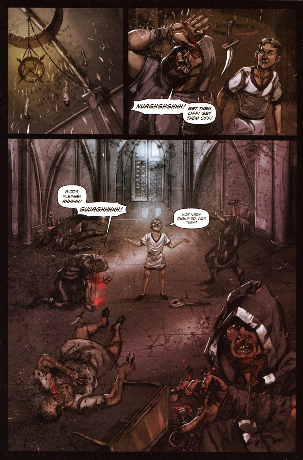 Caligula: Heart of Rome Issue #5 #5 - English 19