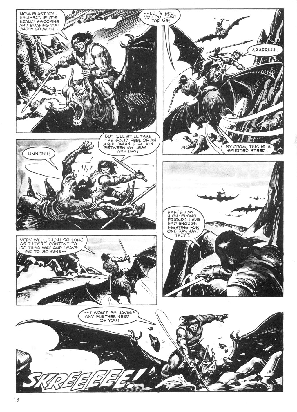 The Savage Sword Of Conan Issue #87 #88 - English 18