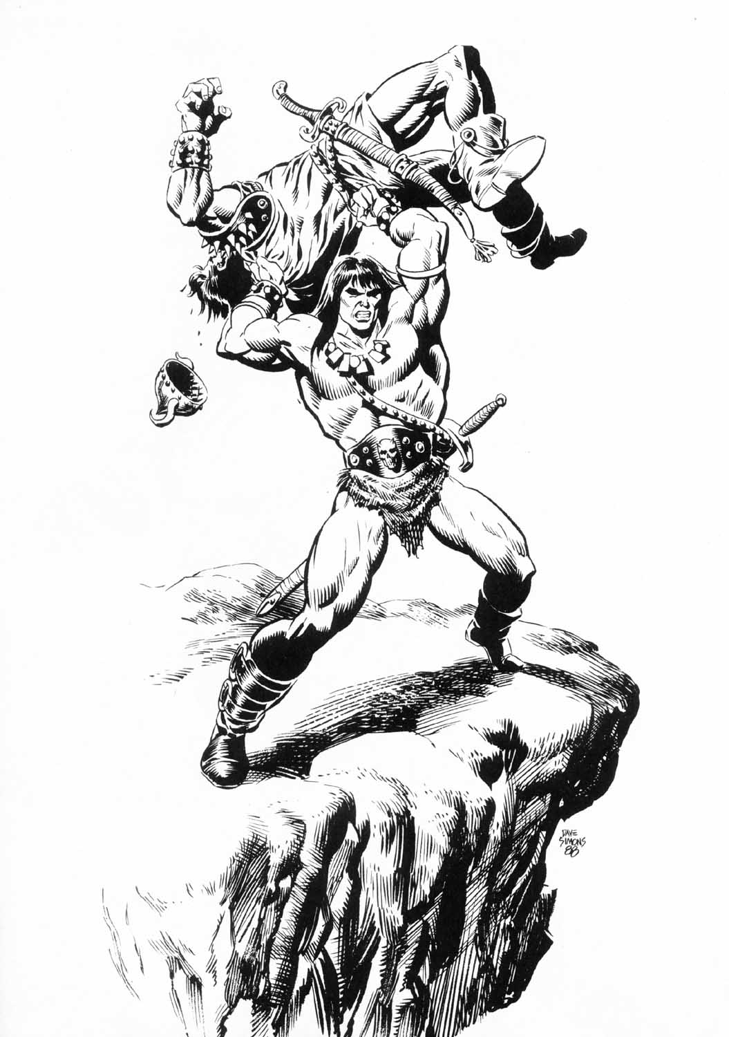 The Savage Sword Of Conan Issue #156 #157 - English 56