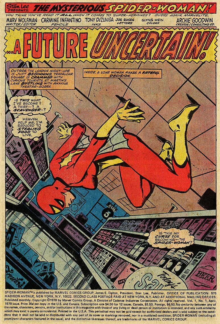 Spider-Woman (1978) #1 #50 - English 2
