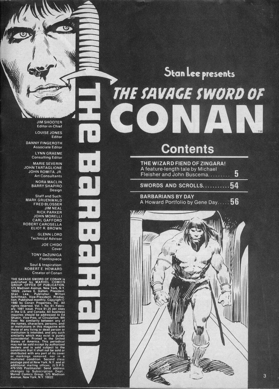The Savage Sword Of Conan Issue #61 #62 - English 3