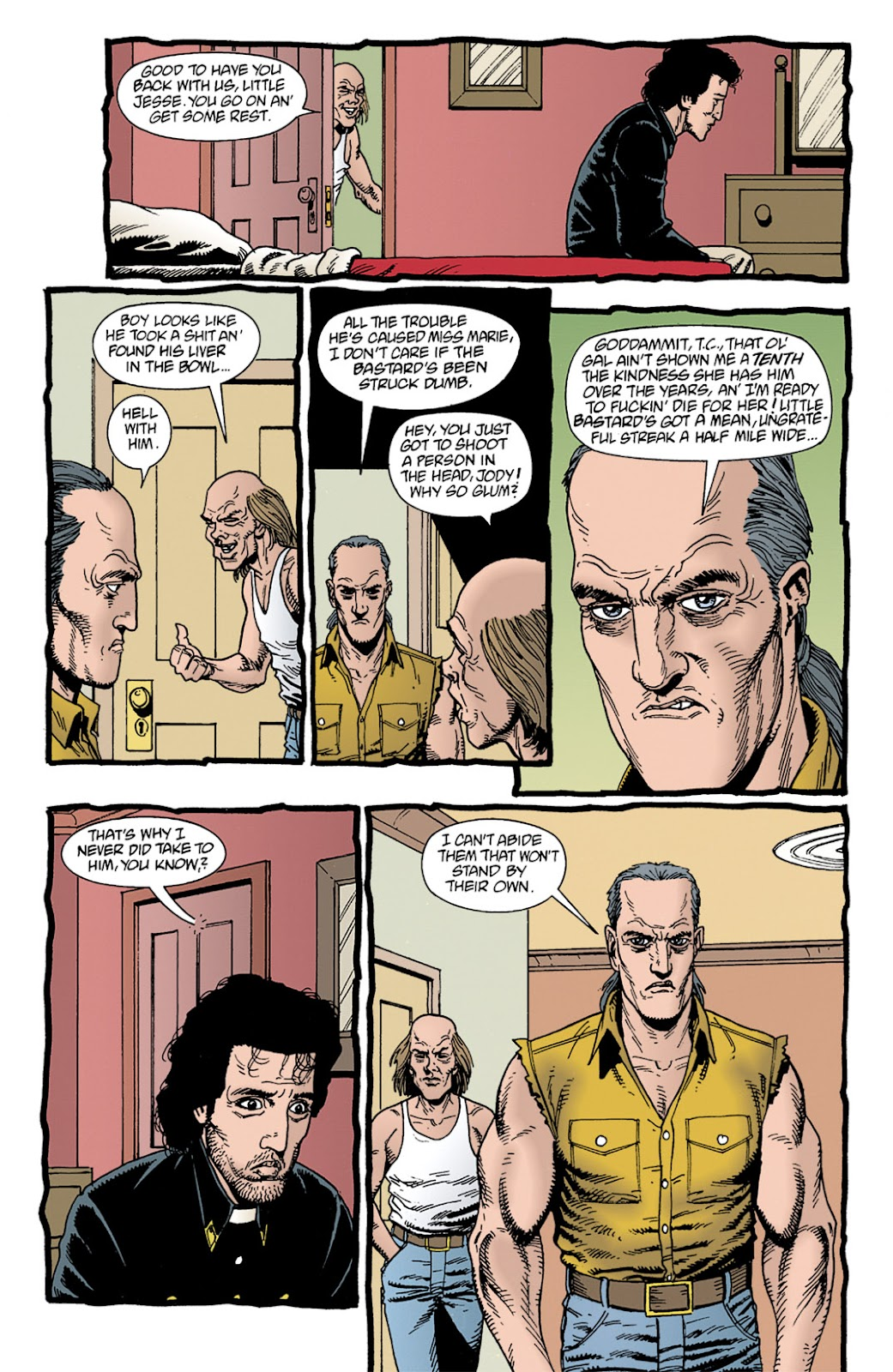 Preacher Issue #11 #20 - English 6