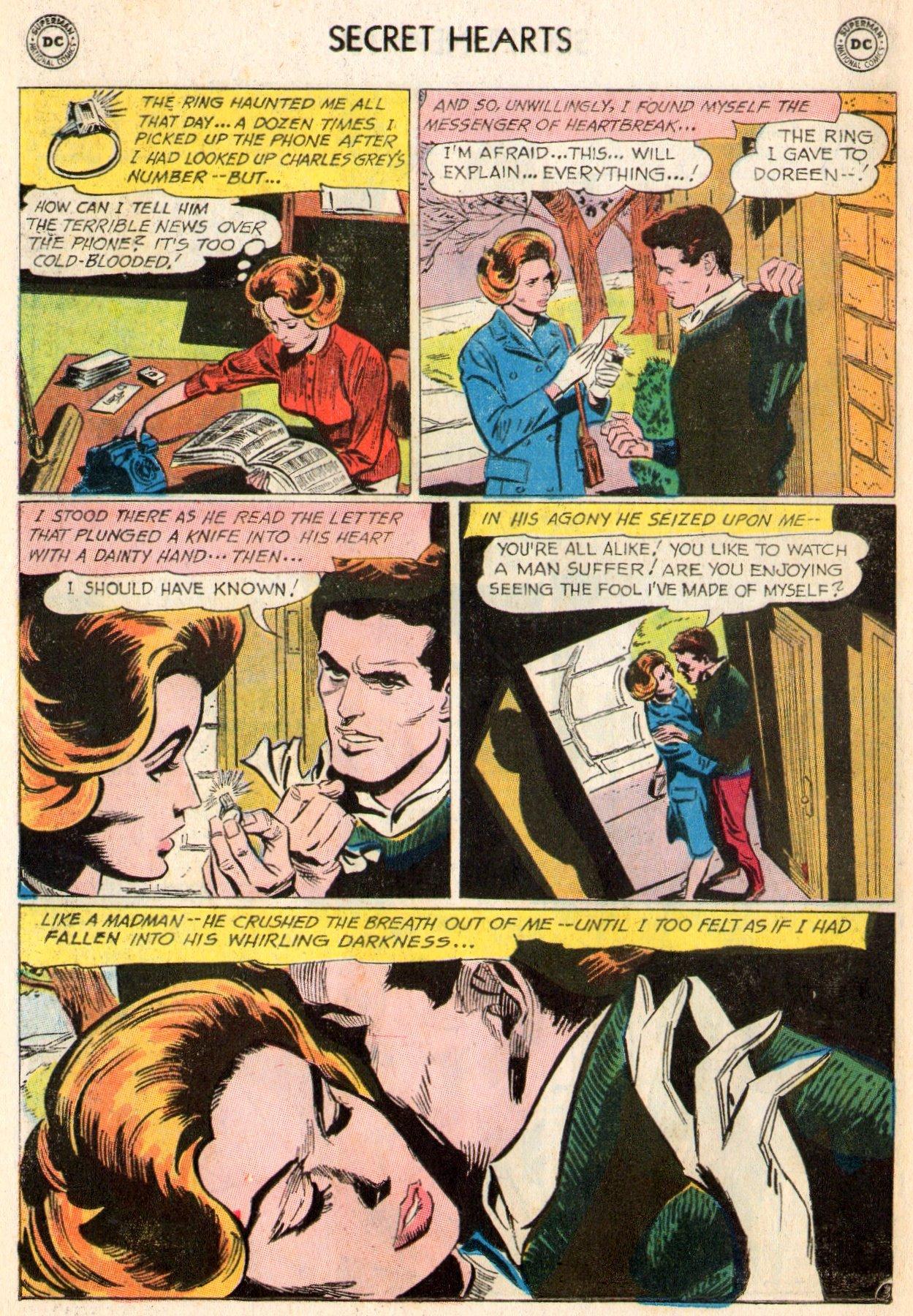 Read online Secret Hearts comic -  Issue #103 - 21